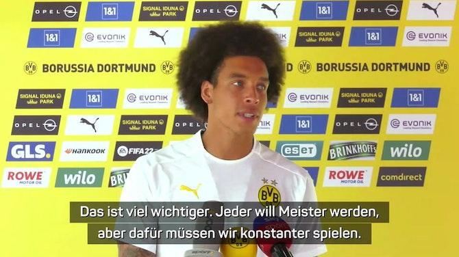 """Vorschaubild für Witsel: """"Haben die Spieler für Meisterschaft"""""""