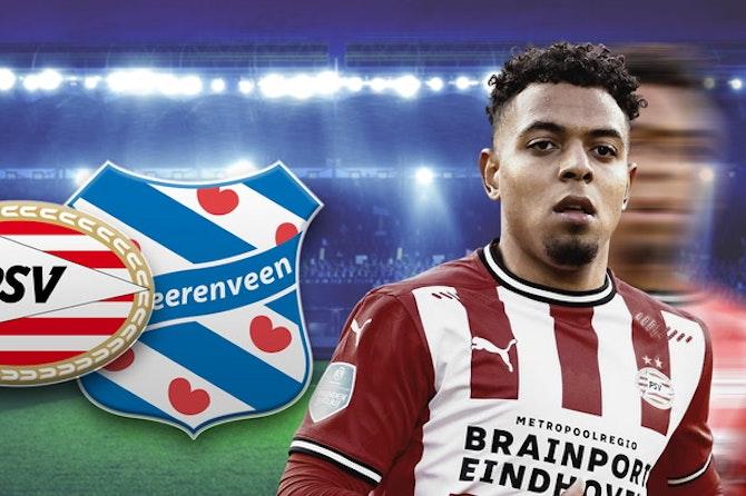 Wahnsinn in Eindhoven! 3 Treffer in 3 Minuten - Gakpo mit Traumtor   PSV Eindhoven - SC Heerenveen