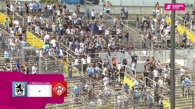 Vorschaubild für TSV 1860 München - FC Würzburger Kickers (Highlights)