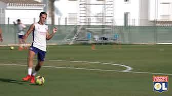 Vorschaubild für Lyon's training session in Spain