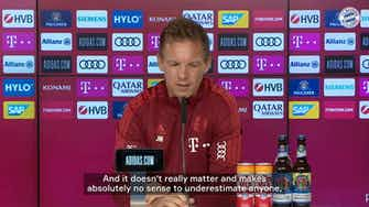 Preview image for Nagelsmann: 'We want to live up to our ambition'