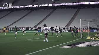 Imagem de visualização para Veja o gol de Giuliano no empate do Corinthians com o América-MG