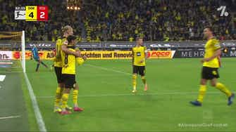 Imagem de visualização para Erling Haaland with a Spectacular Goal vs. Union Berlin