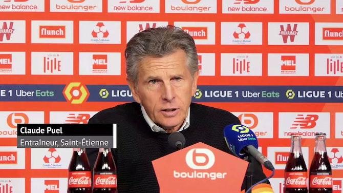 """Image d'aperçu pour 37e j. - Puel : """"J'espère que Lille sera champion"""""""