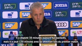 """Image d'aperçu pour 4e j. - Favre : """"Haaland a beaucoup trop joué"""""""