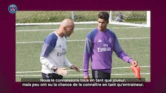 Image d'aperçu pour Hakimi évoque sa relation avec Zidane