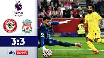 Vorschaubild für Tor-Spektakel in London! | FC Brentford - FC Liverpool 3:3