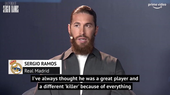 Preview image for 'Killer' Zlatan an example for all players - Ramos