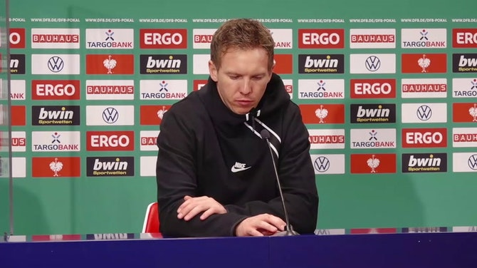"""Vorschaubild für Nagelsmann über 4:0-Kantersieg: """"War zu hoch"""""""