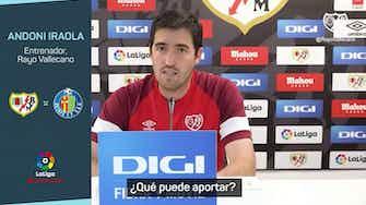 """Imagen de vista previa para Iraola: """"Falcao entra en la convocatoria para el Getafe"""""""