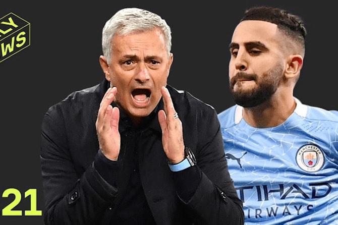 Man City make UCL HISTORY + Mourinho has a NEW JOB!