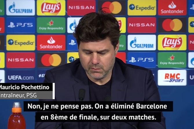 """Quarts - Pochettino : """"Je ne pense pas que le PSG soit le favori pour gagner la Ligue des champions"""""""