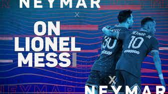 Preview image for Neymar eyeing history with 'football idol and genius' Messi at PSG