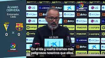 """Imagen de vista previa para Álvaro Cervera: """"El partido se puso para ganarlo"""""""