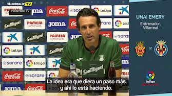 """Imagen de vista previa para Emery, sobre Kubo: """"Las motivaciones extra siempre son buenas"""""""
