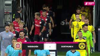 Vorschaubild für SV Wehen Wiesbaden - Borussia Dortmund II (Highlights)