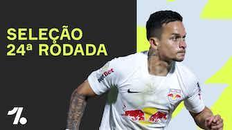 Imagem de visualização para Seleção da 24ª rodada do BRASILEIRÃO!