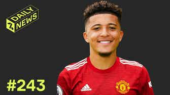 Preview image for Man United plan Sancho DEAL! + Ancelotti's FIRST Real Madrid signing!