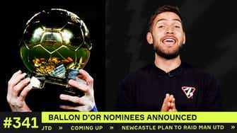 Preview image for Ballon d'Or nominees and my two favourites!