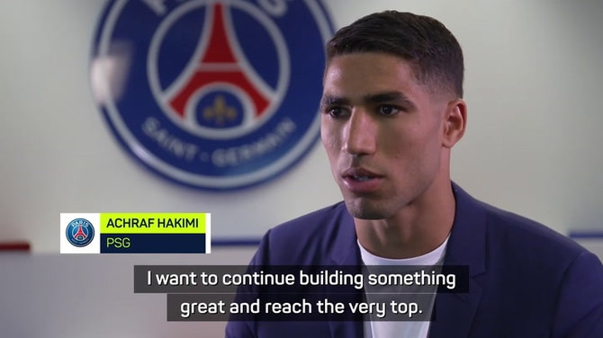 Preview image for Hakimi targeting trophies with PSG