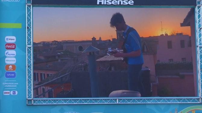 Inaugurado el UEFA Festival en Roma