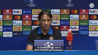 Anteprima immagine per La conferenza stampa di Simone Inzaghi