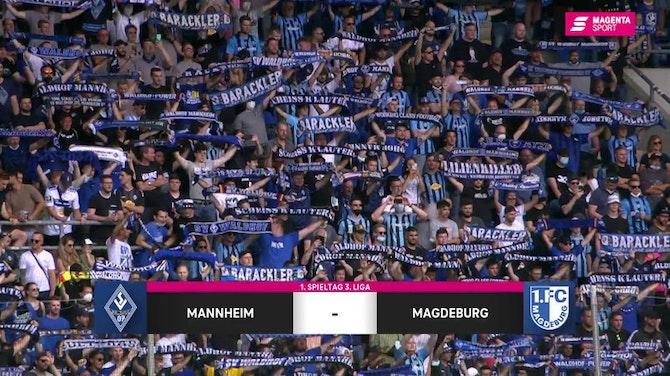 Vorschaubild für SV Waldhof Mannheim - 1. FC Magdeburg (Highlights)