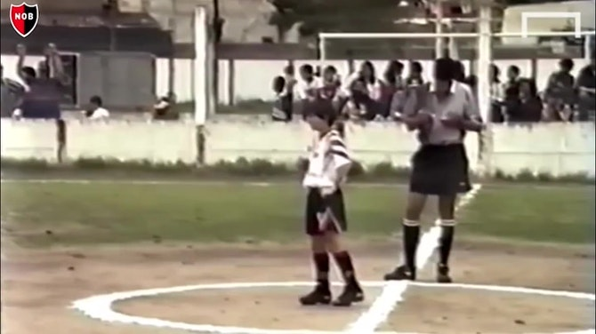 Preview image for Messi's first steps at Newell's Old Boys