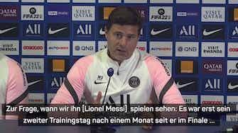 Vorschaubild für Pochettino deutet an: Messi noch nicht bereit