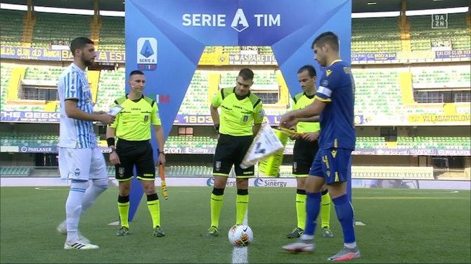 Vorschaubild für Serie A: Hellas Verona - SPAL | DAZN Highlights