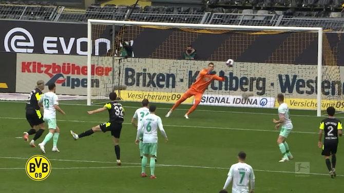 Gols de Gio Reyna pelo Borussia Dortmund