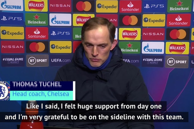 Sacrifices 'worth it' says Tuchel as Chelsea reach Champions League final