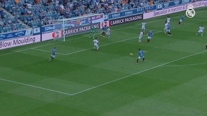 Anteprima immagine per Il Real Madrid perde l'amichevole contro i Rangers