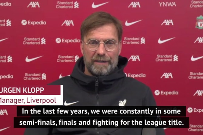 Klopp insists no 'hurt' over Manchester City and United success