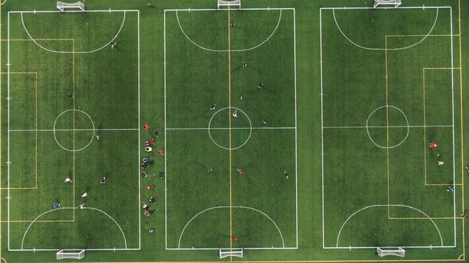 Preview image for The beautiful game from above
