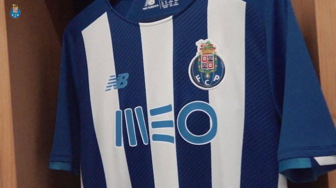 Vorschaubild für FC Porto unveil their new 2021-22 home kit