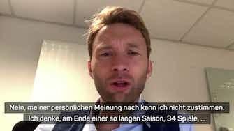 """Vorschaubild für Rolfes: Bundesliga-Play-offs? """"Stimme nicht zu"""""""