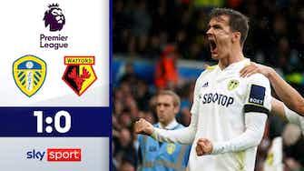 Vorschaubild für Llorente beschert Leeds den Sieg | Highlights: Leeds - Watford 1:0