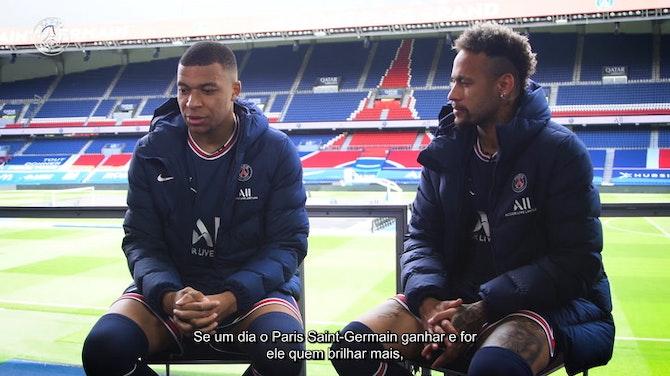 """Imagem de visualização para Neymar e Mbappé negam disputa por Bola de Ouro no PSG: """"estamos do mesmo lado"""""""