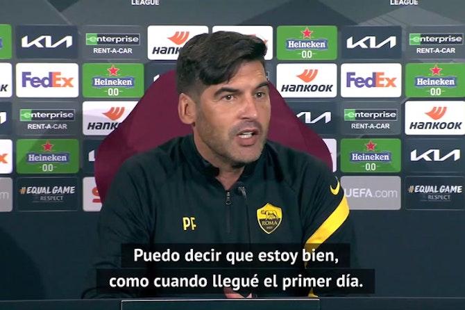 """Fonseca: """"Mourinho hará un gran trabajo aquí en la Roma"""""""