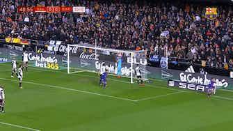 Imagem de visualização para Philippe Coutinho marcou seu primeiro gol no Barcelona contra o Valencia; relembre
