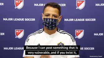 Preview image for Chicharito campaigns to quell social media influence