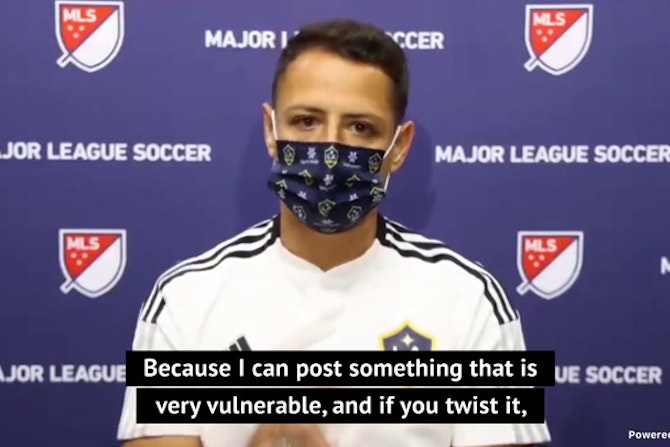 Chicharito campaigns to quell social media influence
