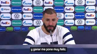"""Imagen de vista previa para Benzema: """"Es un título muy importante para mí"""""""