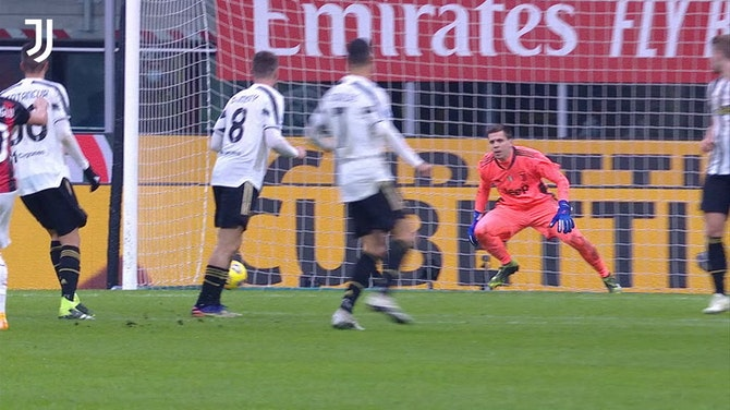 Preview image for The best of Szczęsny in the Serie A 20-21