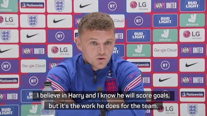 Preview image for Trippier backs England captain Kane to score goals amid criticism