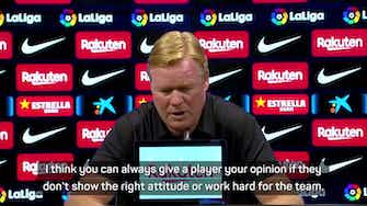 Preview image for Koeman frustrated by whistling of Griezmann during Getafe win
