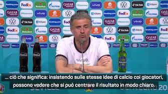 """Anteprima immagine per Luis Enrique sul 5-0 alla Slovacchia: """"Che sollievo! Arriva nel momento migliore"""""""