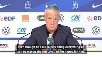 Preview image for Deschamps hoping Chelsea keep Giroud fresh