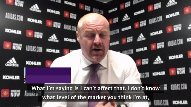 Super League talk for 'higher up the food chain' - Burnley's Dyche